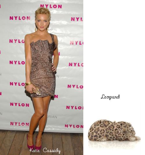katie cassidy leopard