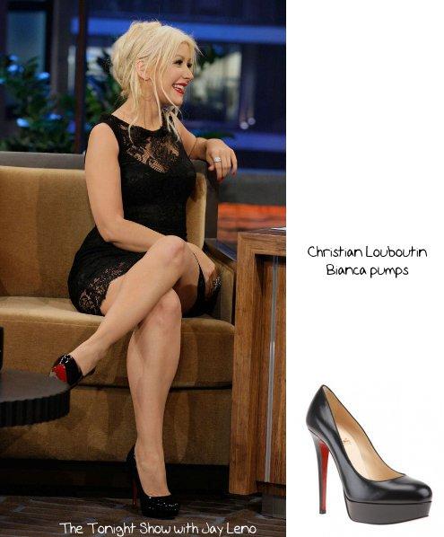 Christina Aguilera\u0026#39;s Style: Promoting \u201cBurlesque\u201d on TV, November ...