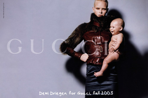 "76a4127ae64 Fashion Photography Says ""Motherhood""  Harry Winston and Gucci ..."