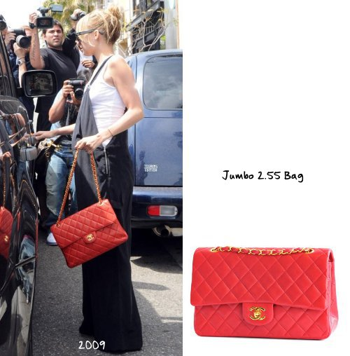 a5825c0353 A timeless piece: the Jumbo size of the classic 2.55 flap bag in red. It's  the perfect pop of colour for any outfit, but it looks great with black and  white ...