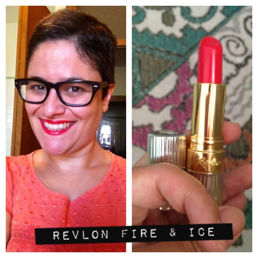 Revlon Fire And Ice Lipstick Review images