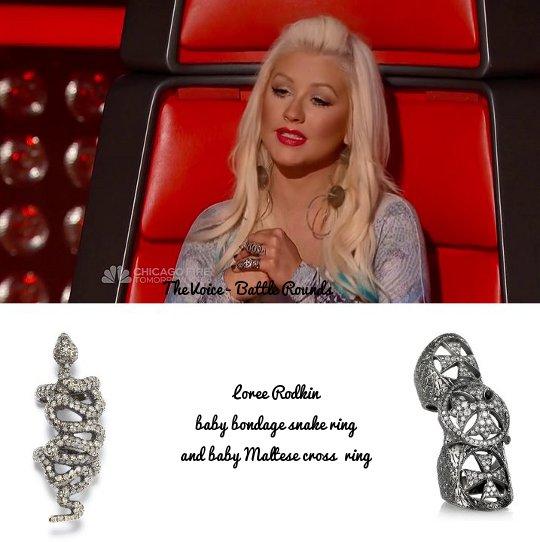 Christina Aguilera S Style The Voice Season 3 Battle