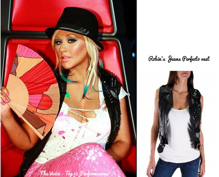 Christina Aguilera Has Wardrobe