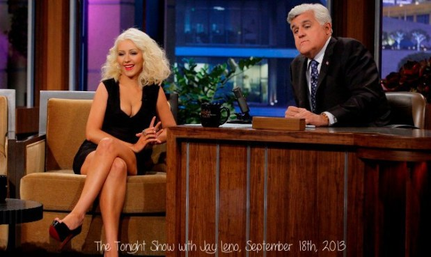 Christina Jay Leno September 2013