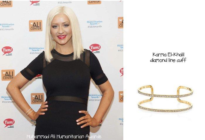 Christina Aguilera jewellery line