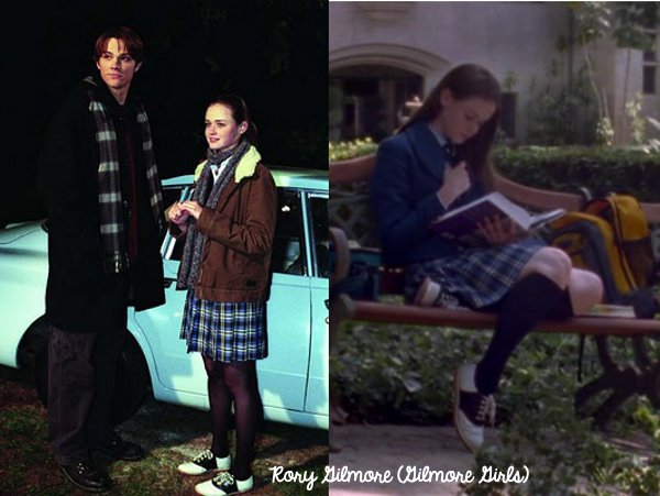 rorygilmore_saddleshoes