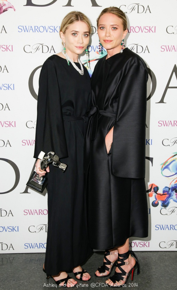 Anatomy of an Outfit: Mary-Kate and Ashley Olsen at the CFDA Awards ...